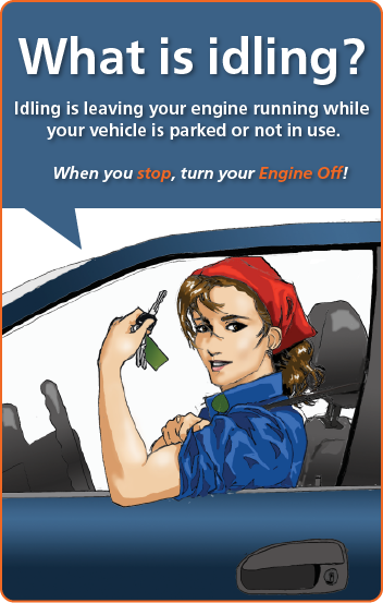 Rosie: What is Idling? Graphic